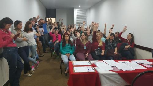 Trabalhadores (as) da Cobra Tecnologia rejeitam proposta
