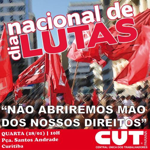 Centrais promovem ato em defesa do emprego e contra as demissões no dia 28